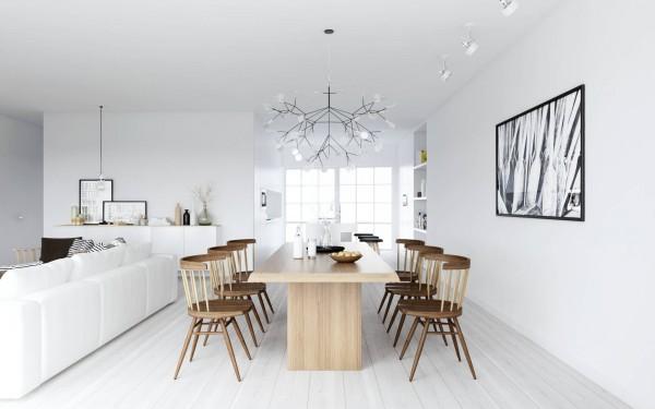 Diseño interior nórdico