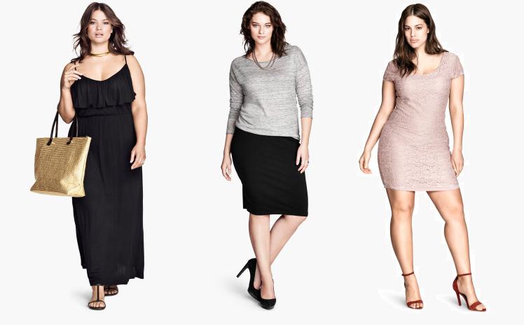 colección moda talla grande H&M 2014