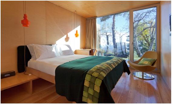 Alojamiento de Diseño. Hotel Casa Das Penhas Douradas. Portugal