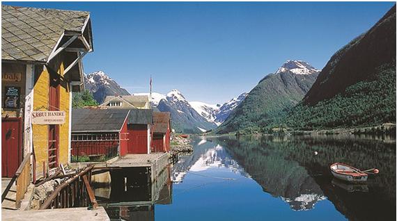 Alojamientos de Diseño .Hoteles de Diseño Fiordos Noruegos