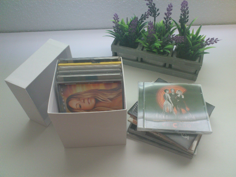 Cajas Nordic Treats para guardar cds