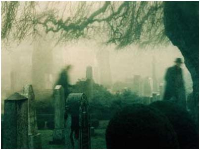Fantasmas Nórdicos Cementerio