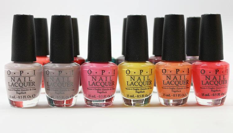 Productos noche de verano esmaltes de uñas opi