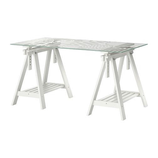 Zona de Trabajo con escritorio Ikea