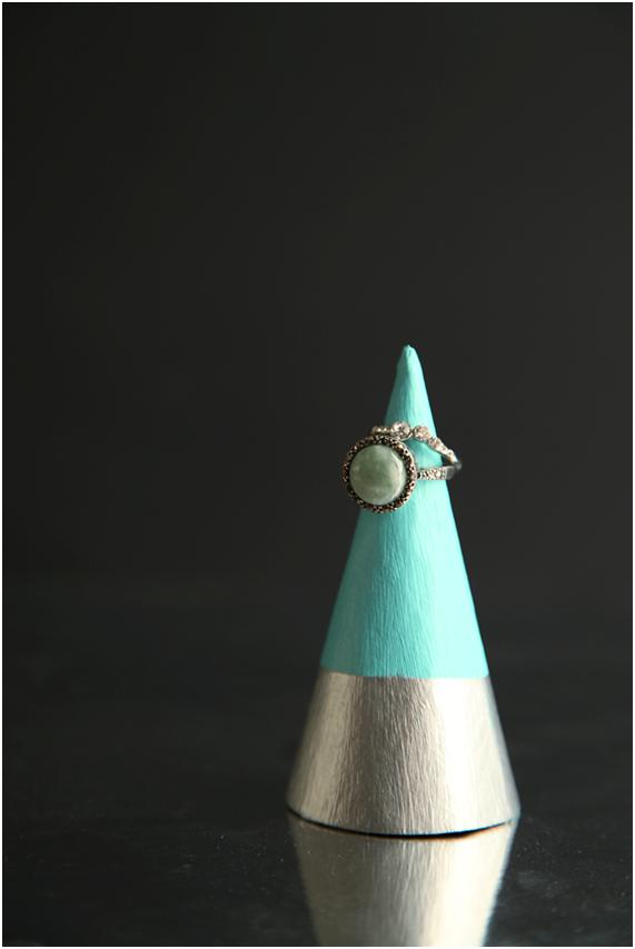 Organizador de Joyas DIY nórdico para anillos