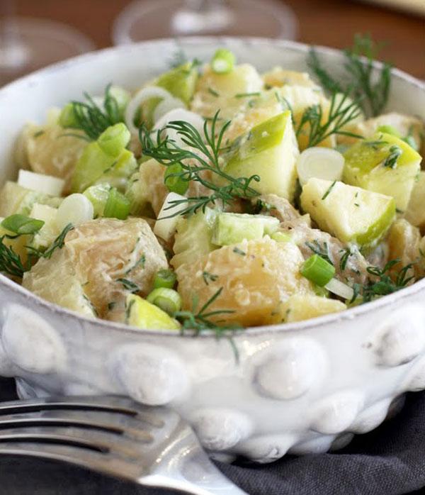 Ensaladas Nórdica Veraniegas Patata y Manzana
