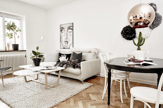 Apartamento sueco. Salón