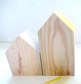 Casitas de madera de estilo nórdico
