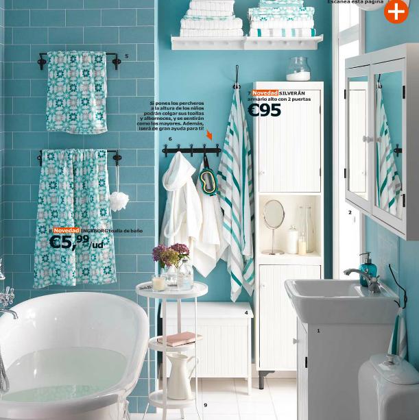 Catálogo Ikea 2015 para España baños retro