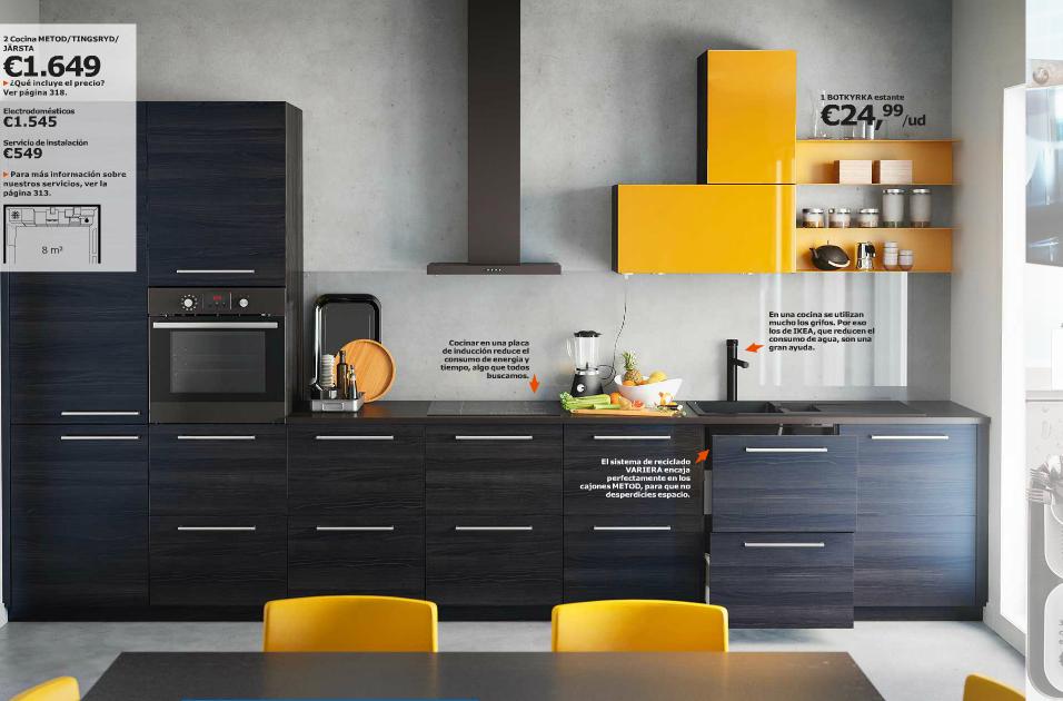 Catálogo Ikea 2015 para España cocina color