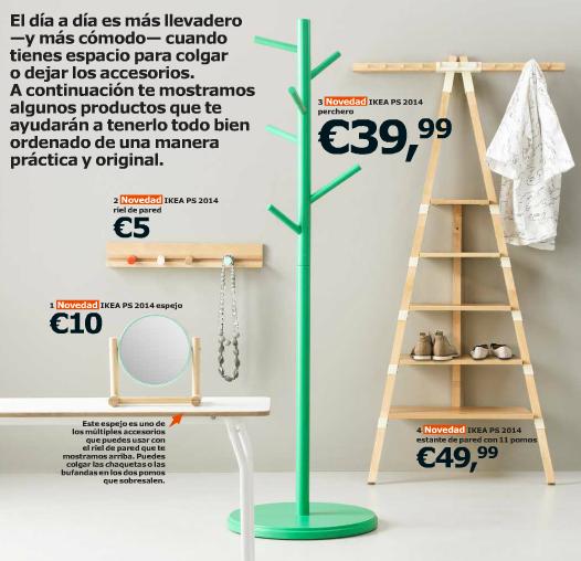 Catálogo Ikea 2015 para España complementos