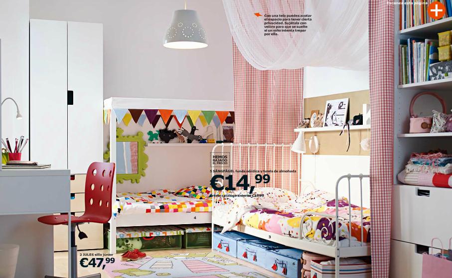 Catálogo Ikea 2015 para España niños