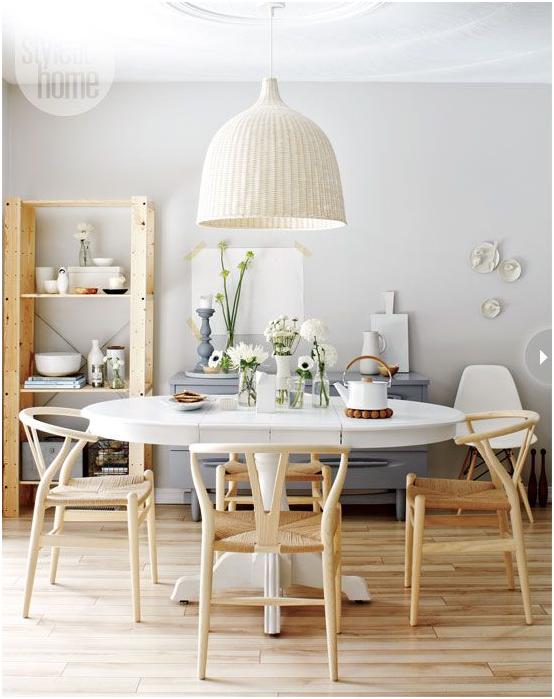 Comedor de Estilo Nórdico Iluminación  Nordic Treats