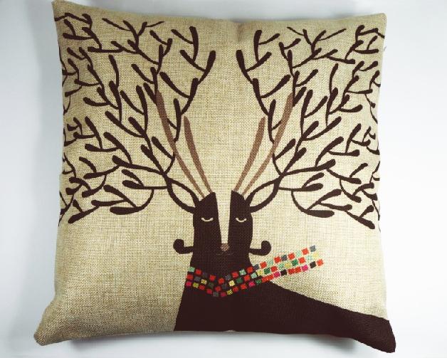 Funda de Cojín Nordic Reindeer – Nordic Treats Shop
