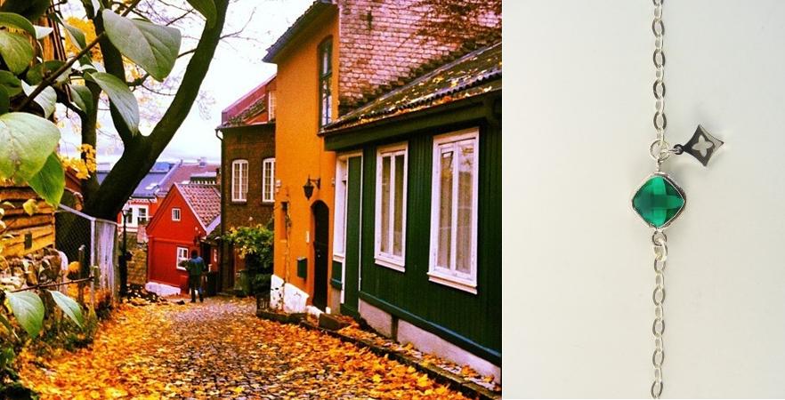 Colores del Otoño Nórdico Casas