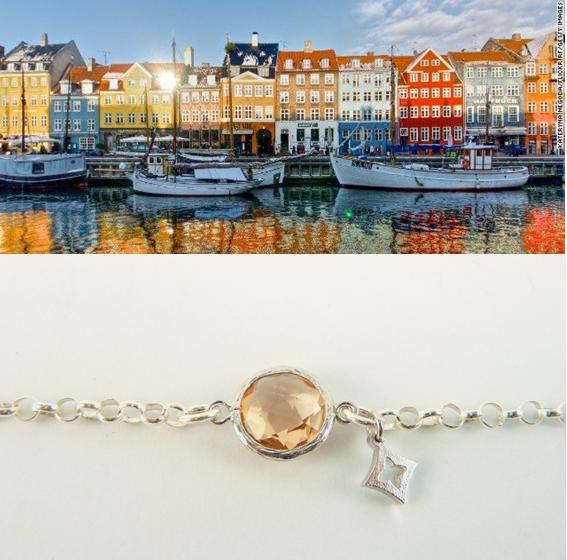 Colores del Otoño Nórdico. Casas Copenhague