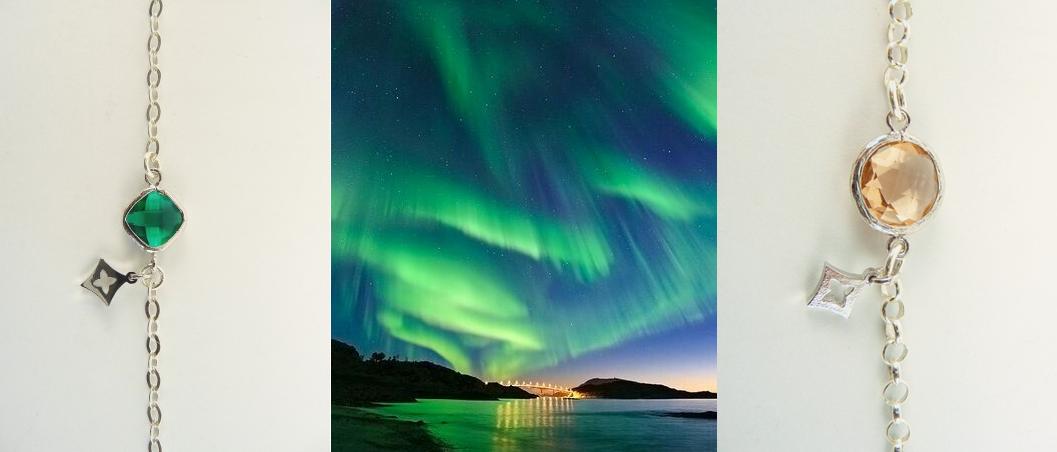 Colores del Otoño Nórdico Aurora Boreal