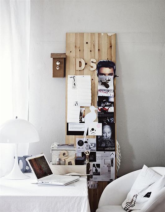 Inspiration Board de madera