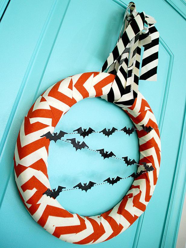 Corona nordic Halloween de chevron