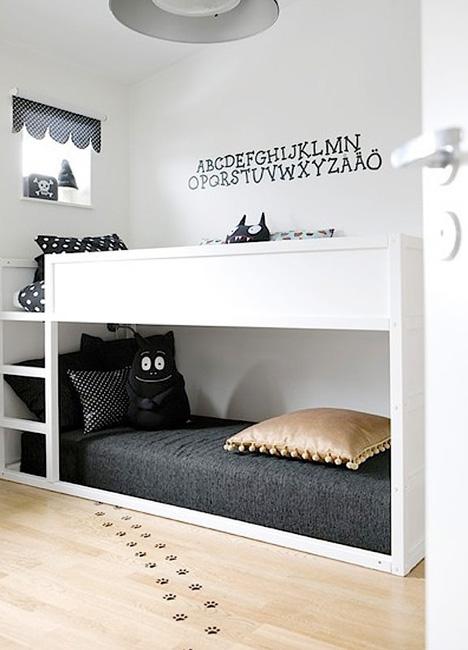 Habitaciones infantiles de estilo nórdico