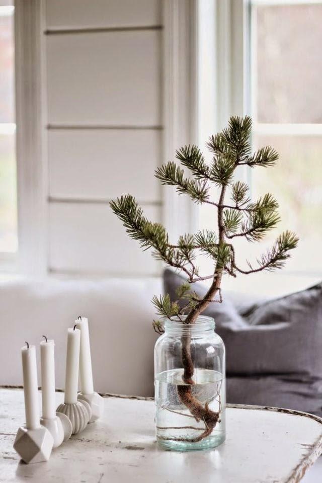Decoración de Navidad de estilo nórdico