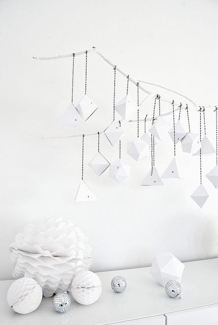 Guirnaldas de Navidad de diseño nórdico