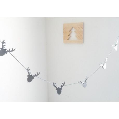 Guirnaldas de Navidad de Estilo Nórdico
