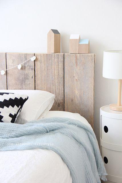 Rincón de estilo nórdico: dormitorio