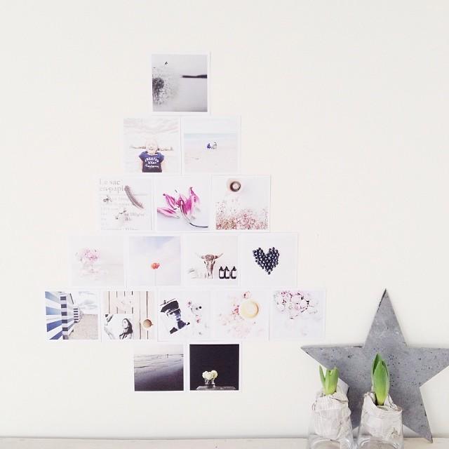 Rincón de estilo nórdico - árbol de Navidad
