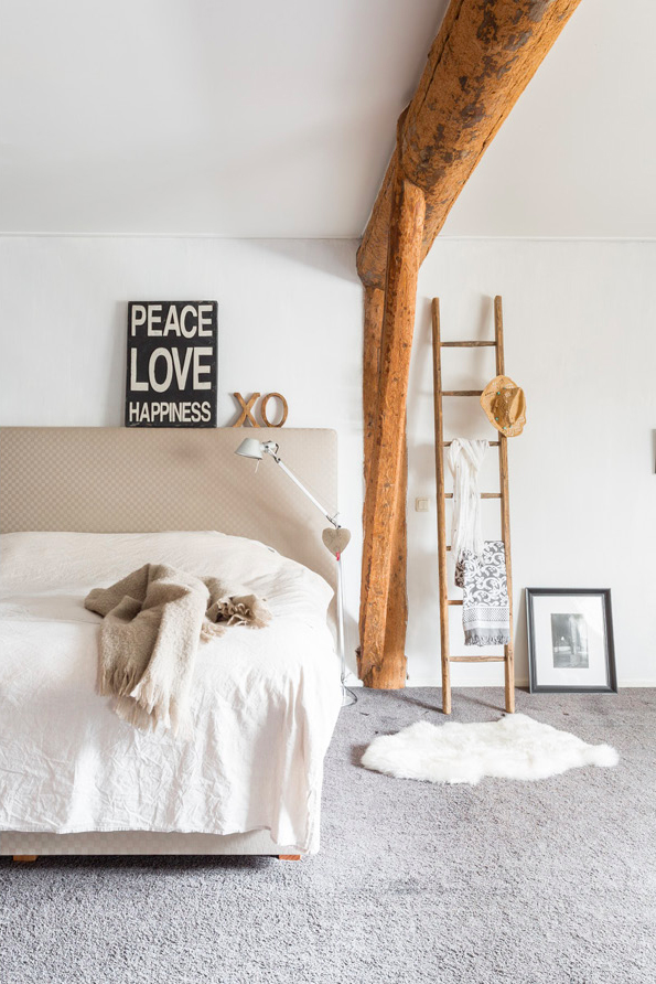 Bedside ladder madera