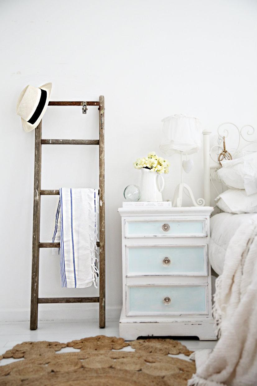 Bedsie Ladder madera envejecida