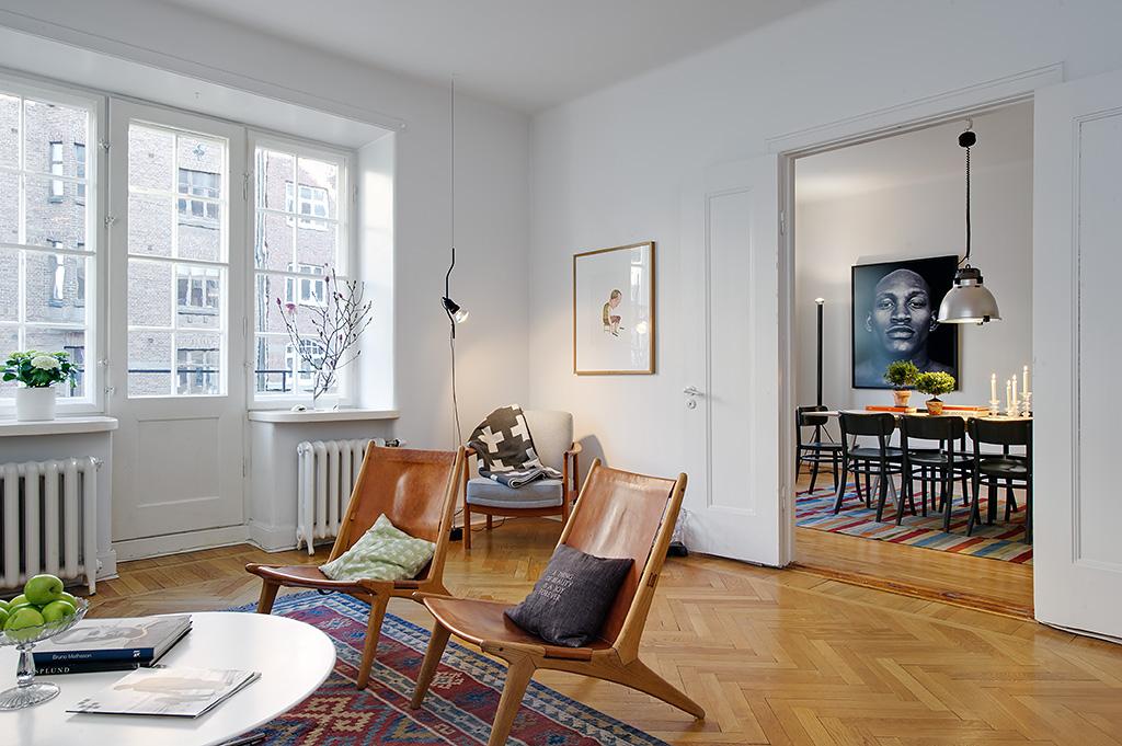 Vivienda en el centro de Estocolmo acceso a comedor 2012