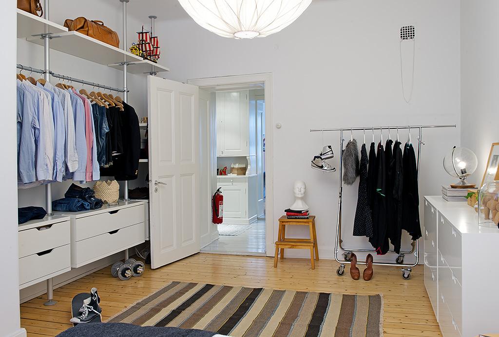 Vivienda en el centro de Estocolmo almacenaje 2012