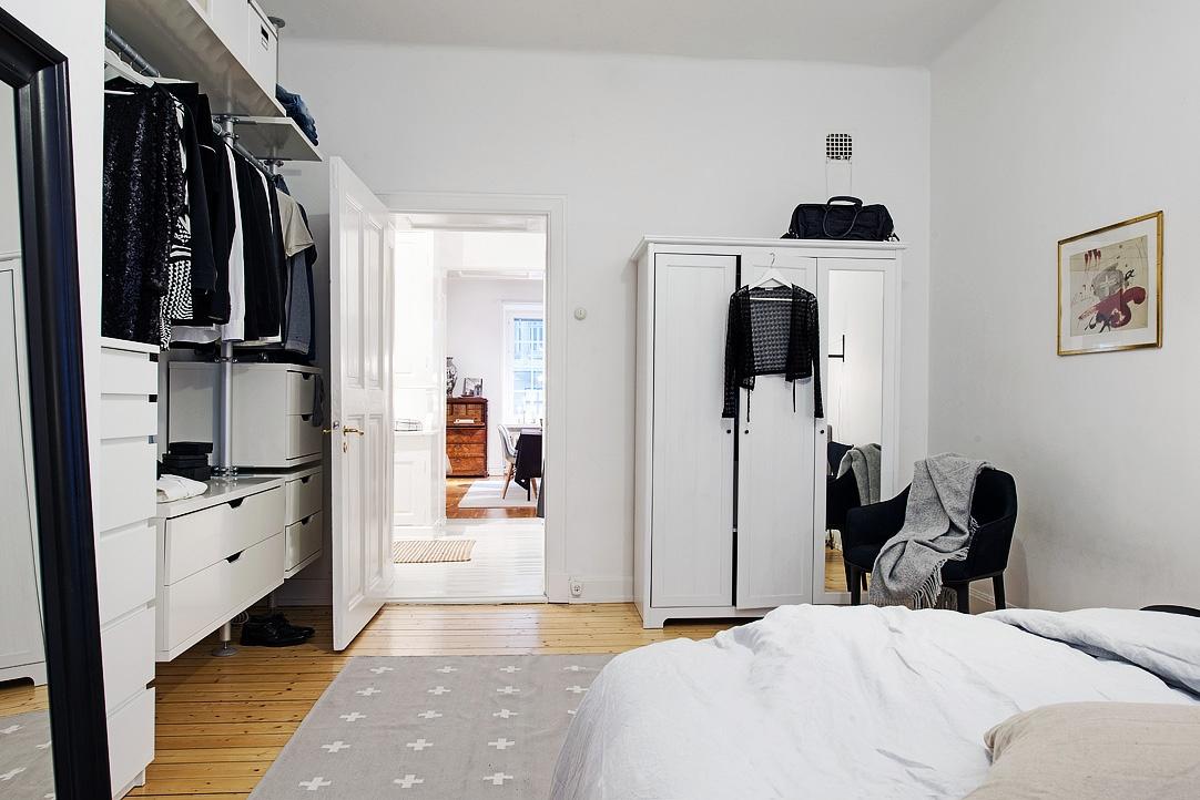 Vivienda en el centro de Estocolmo almacenaje 2014