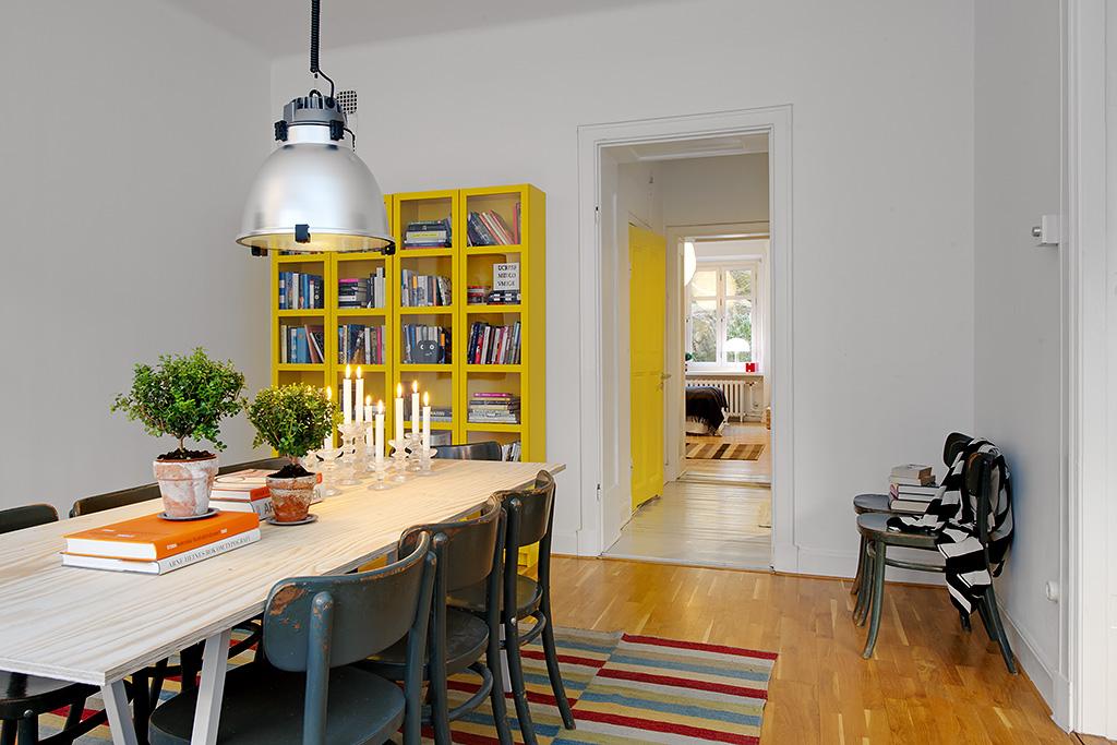 Vivienda en el centro de Estocolmo distribuidor 2012