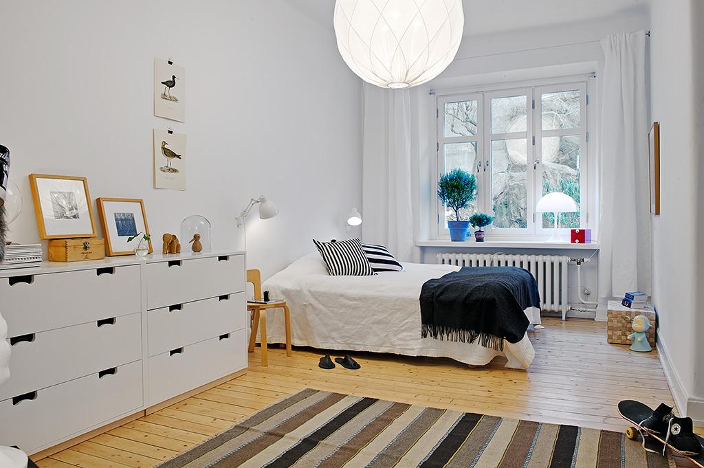 Vivienda en el centro de Estocolmo dormitorio 2012