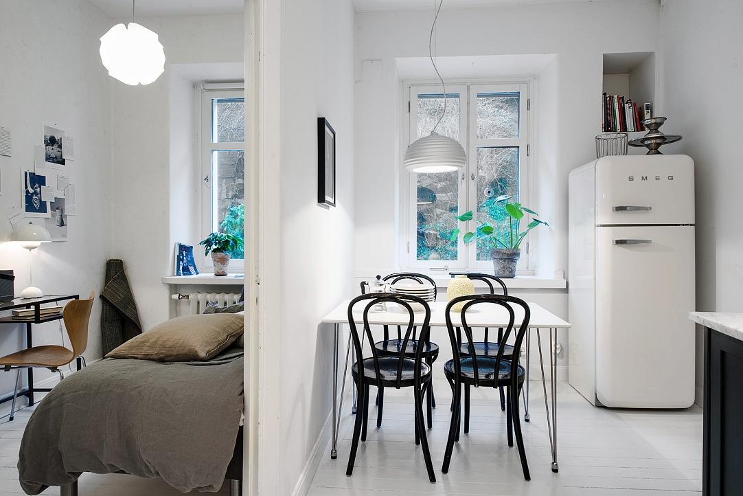 Vivienda en el centro de Estocolmo zona de servicio 2014