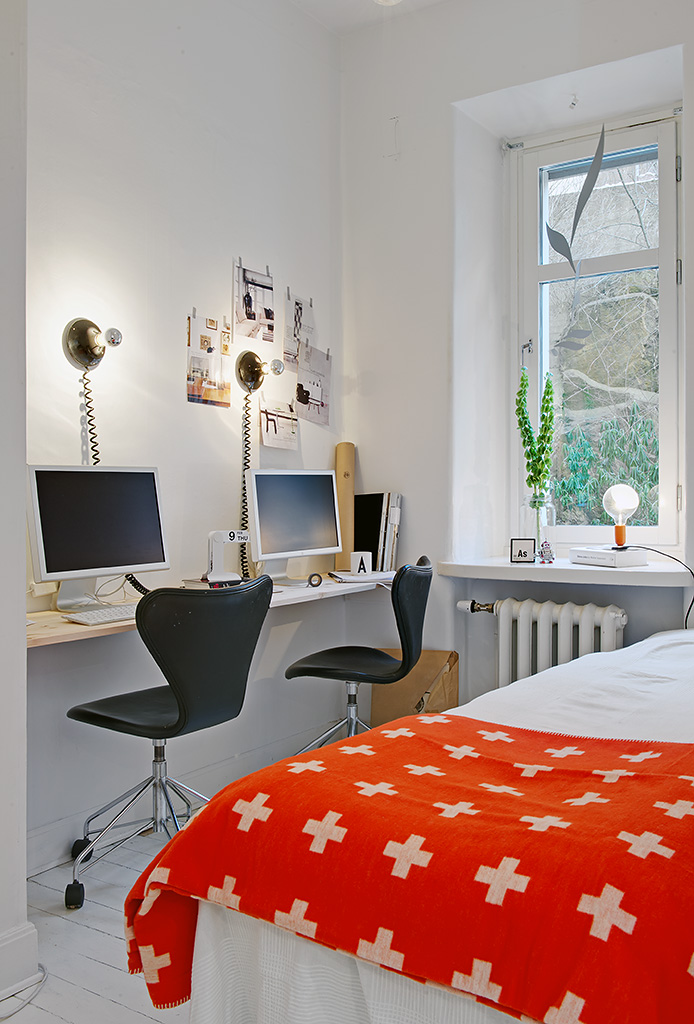 Vivienda en el centro de Estocolmo zona de trabajo 2012