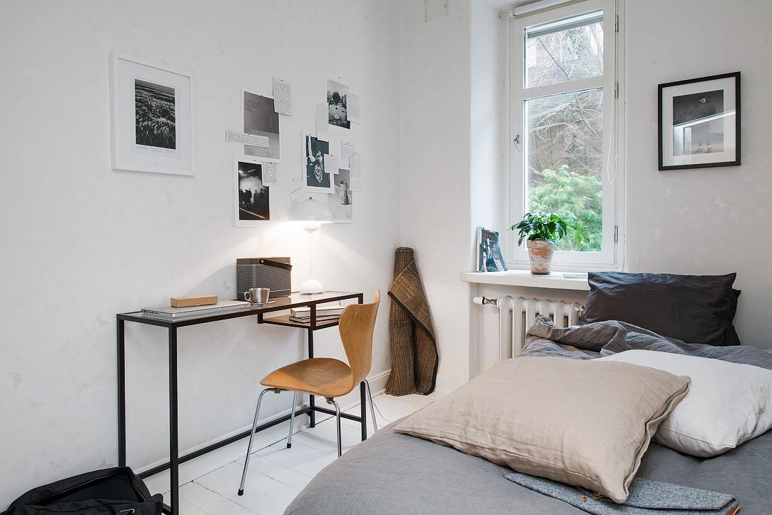 Vivienda en el centro de Estocolmo zona de trabajo 2014