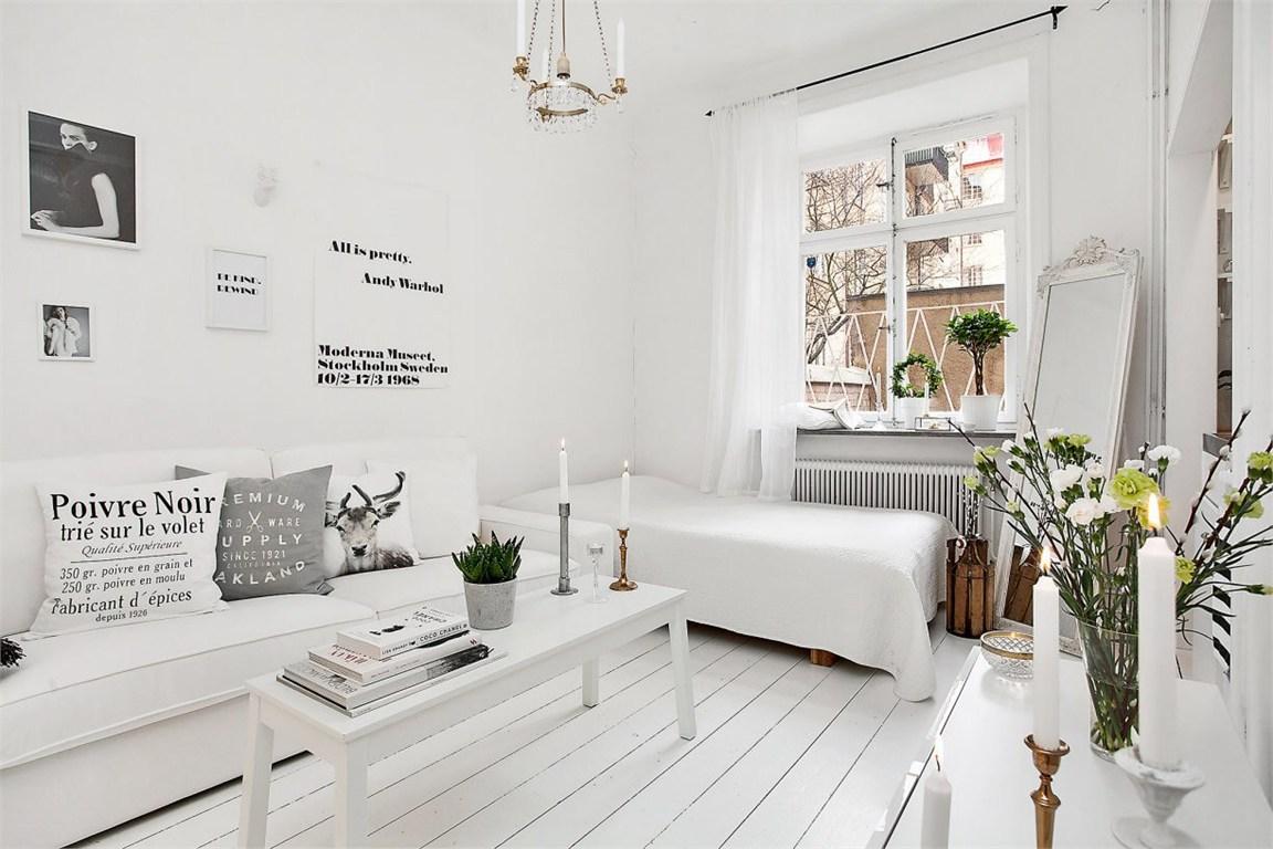 Decorar espacios pequeños cama integrada