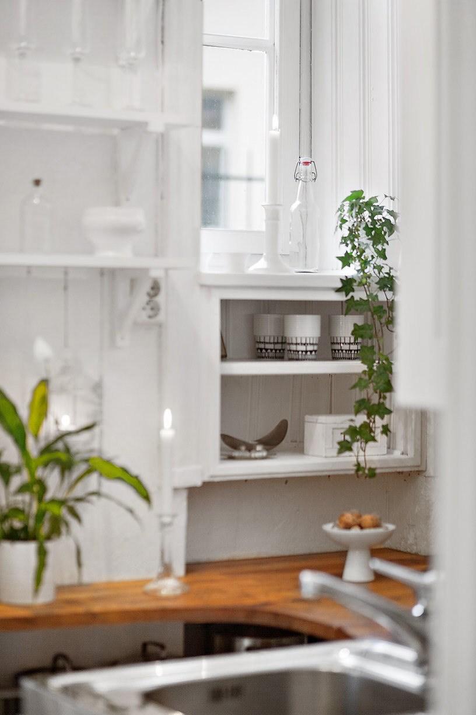 Decorar espacios pequeños. Interior cocina.
