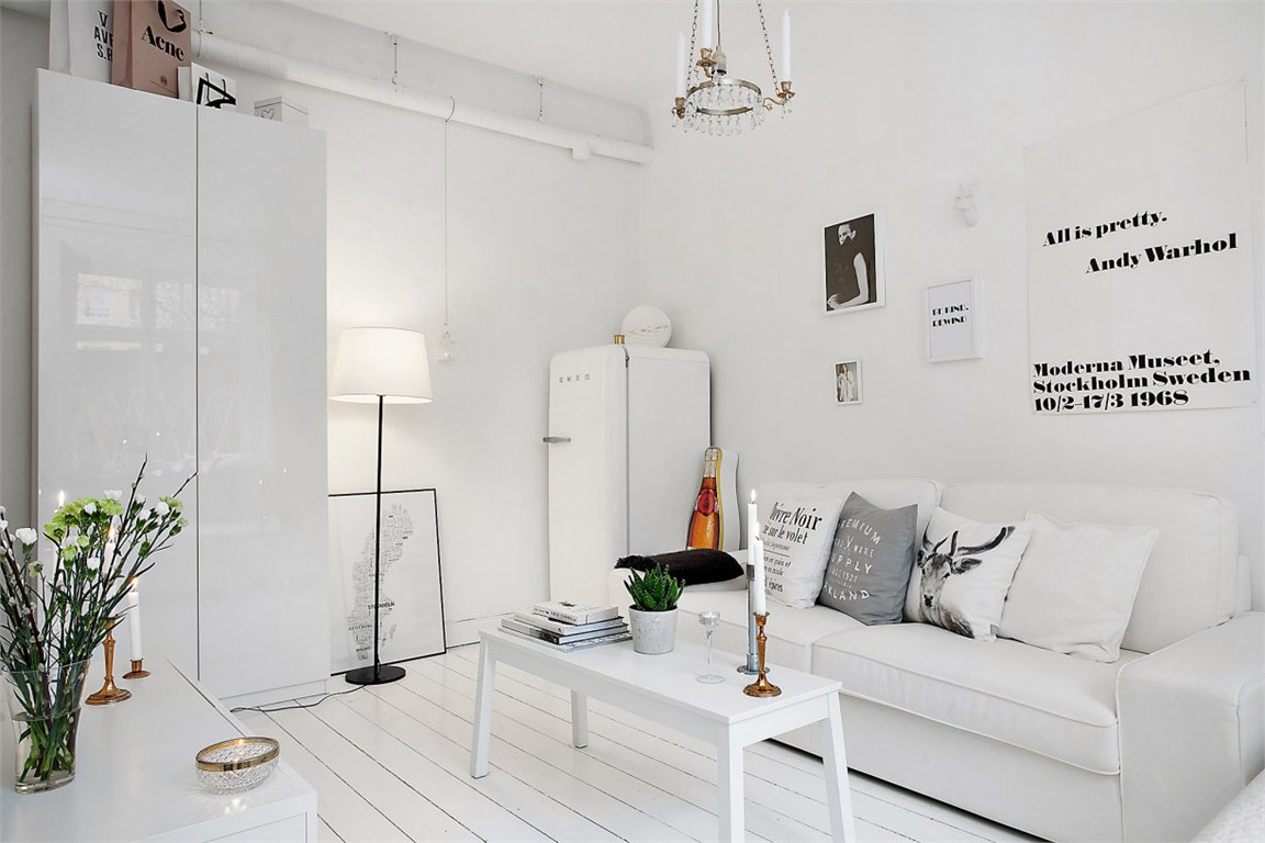 Decorar espacios pequeños con estilo nórdico