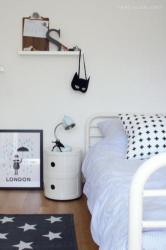 Decoración en Tonos Pastel dormitorio
