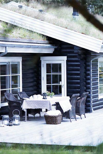 Exteriores Nórdicos black house