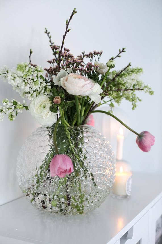 Flores de primavera femeninas