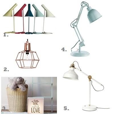 Lámparas para mesilla de noche fichajes shopping
