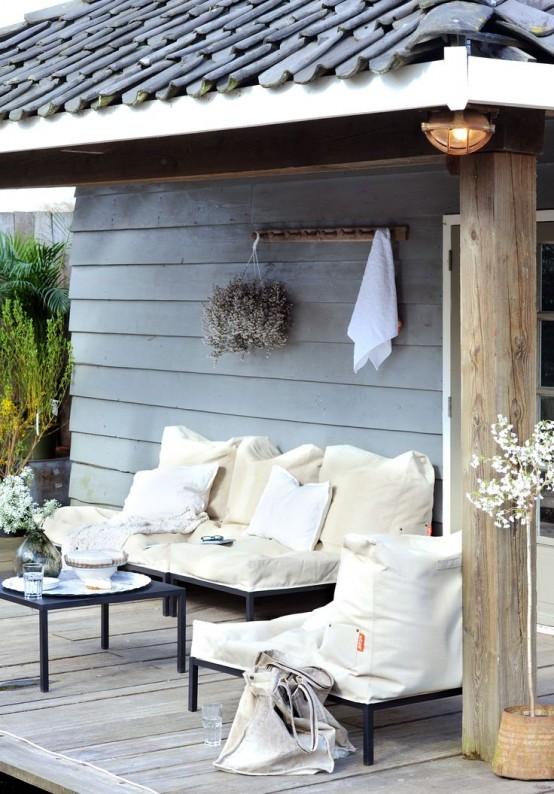 Decorar tu balcón porche