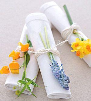 Mesa Primaveral Flores