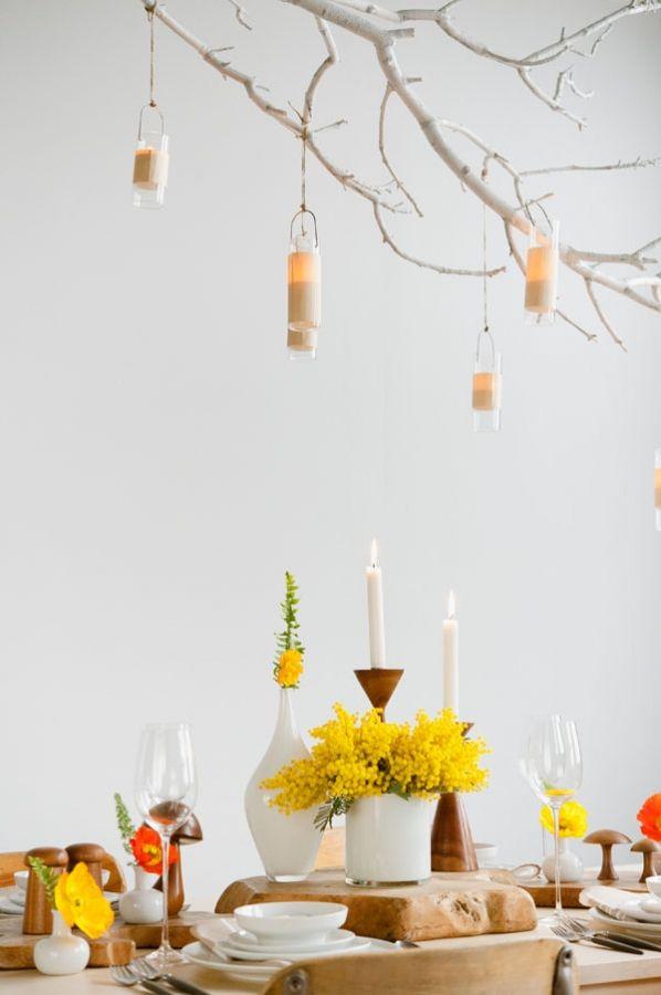 Mesa Primaveral Mimosas