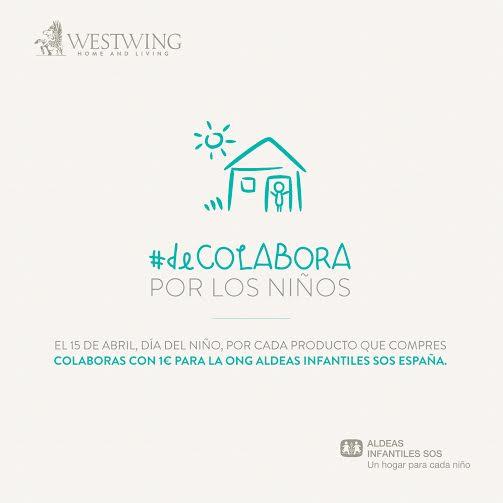 #deCOLABORA Westwing Aldeas Infantiles